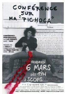 """""""Conférence sur ma Pichoca"""" & + encore"""