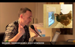 Projection d'une conférence sur l'intelligence animale